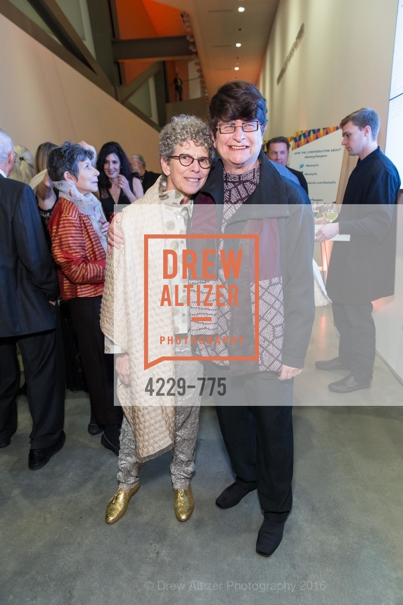 Rena Rosenwasser, Penny Cooper, UC Berkeley Art Museum & Pacific Film Archive Gala, BAMPFA. 2120 Oxford Street, January 28th, 2016,Drew Altizer, Drew Altizer Photography, full-service agency, private events, San Francisco photographer, photographer california