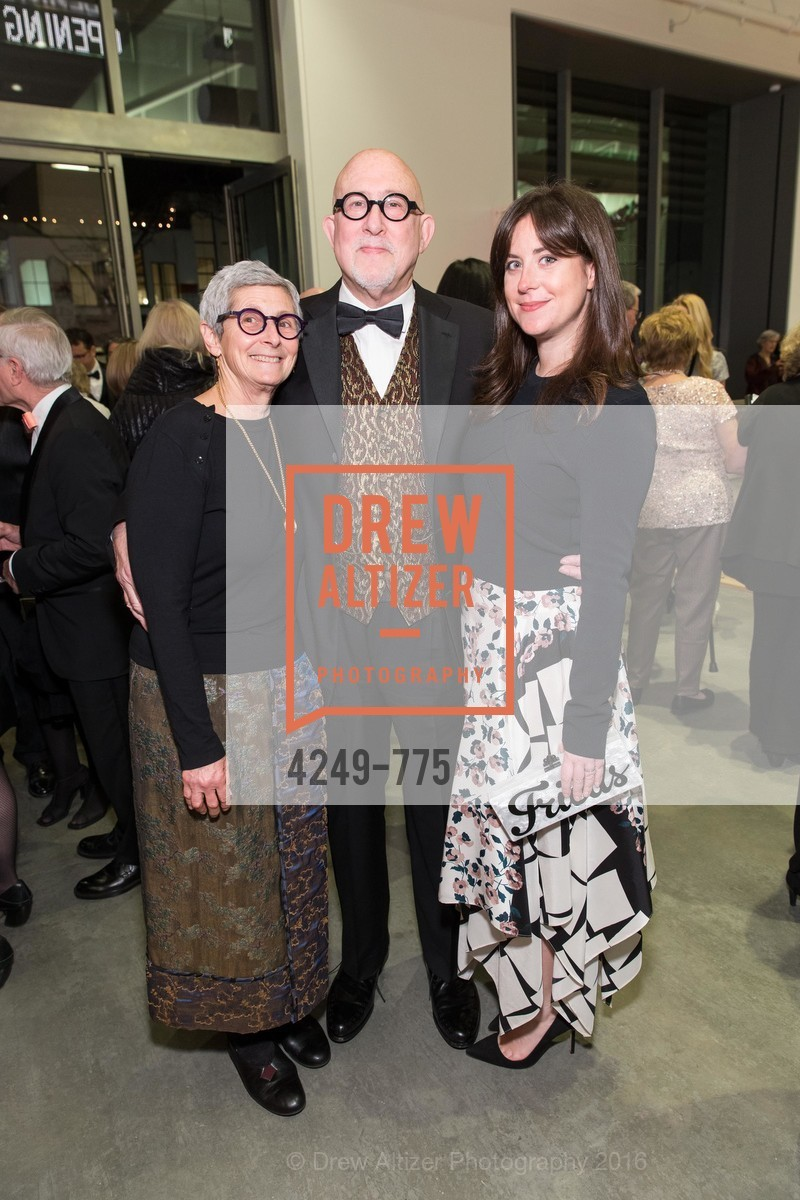 Marion Brenner, Robert Shimshak, Sara Friedlander, UC Berkeley Art Museum & Pacific Film Archive Gala, BAMPFA. 2120 Oxford Street, January 28th, 2016,Drew Altizer, Drew Altizer Photography, full-service agency, private events, San Francisco photographer, photographer california
