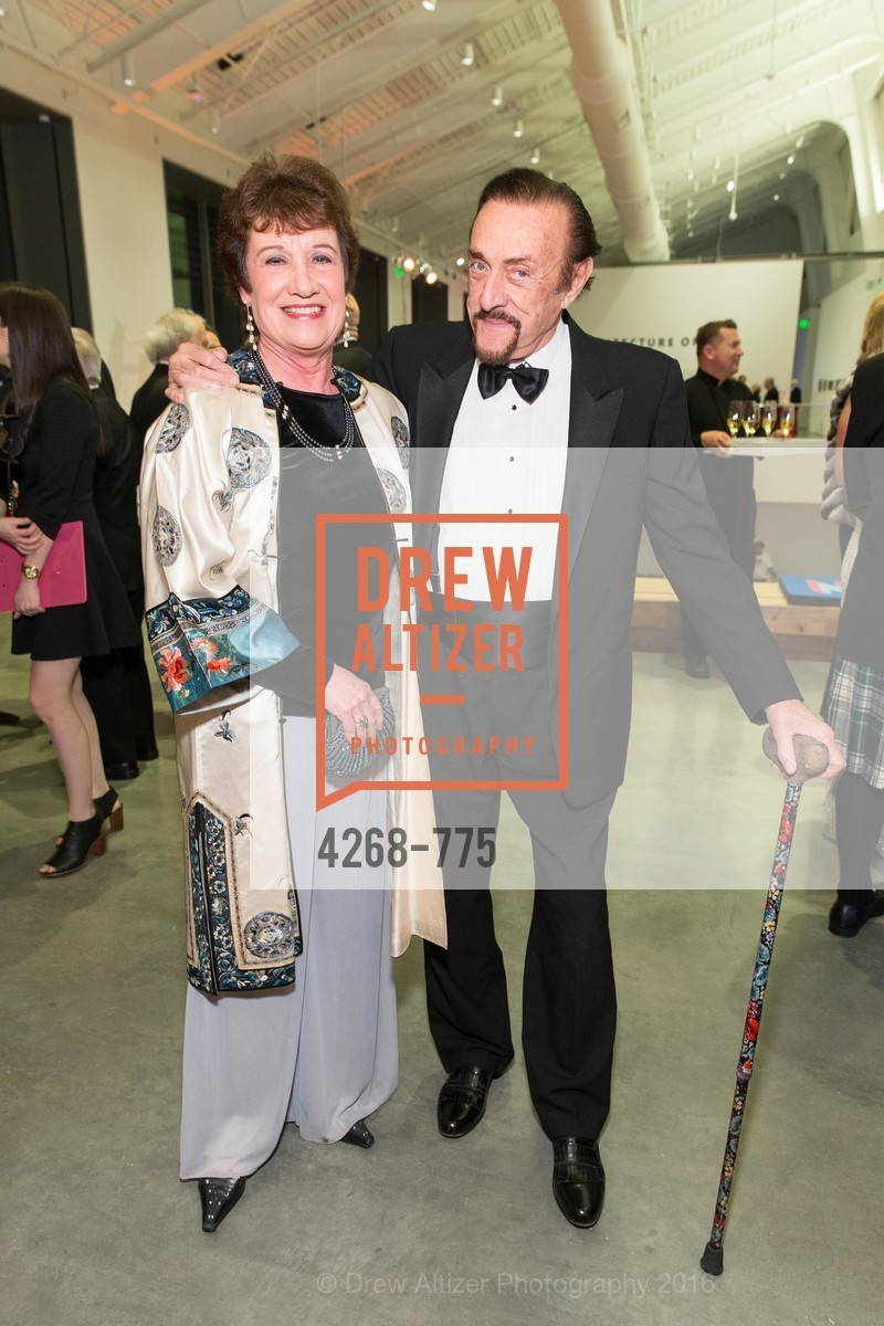 Christina Maslach, Philip Zimbardo, UC Berkeley Art Museum & Pacific Film Archive Gala, BAMPFA. 2120 Oxford Street, January 28th, 2016,Drew Altizer, Drew Altizer Photography, full-service agency, private events, San Francisco photographer, photographer california