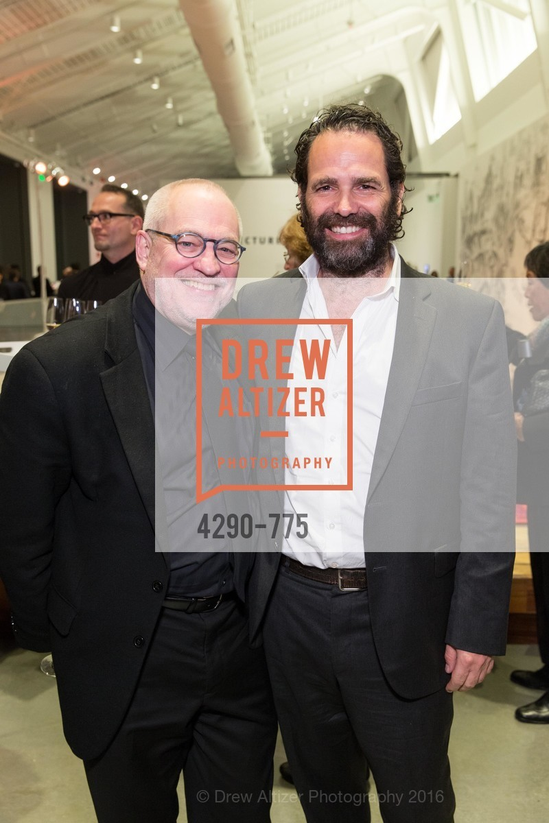 Gary Garrels, Gavin Brown, UC Berkeley Art Museum & Pacific Film Archive Gala, BAMPFA. 2120 Oxford Street, January 28th, 2016,Drew Altizer, Drew Altizer Photography, full-service agency, private events, San Francisco photographer, photographer california