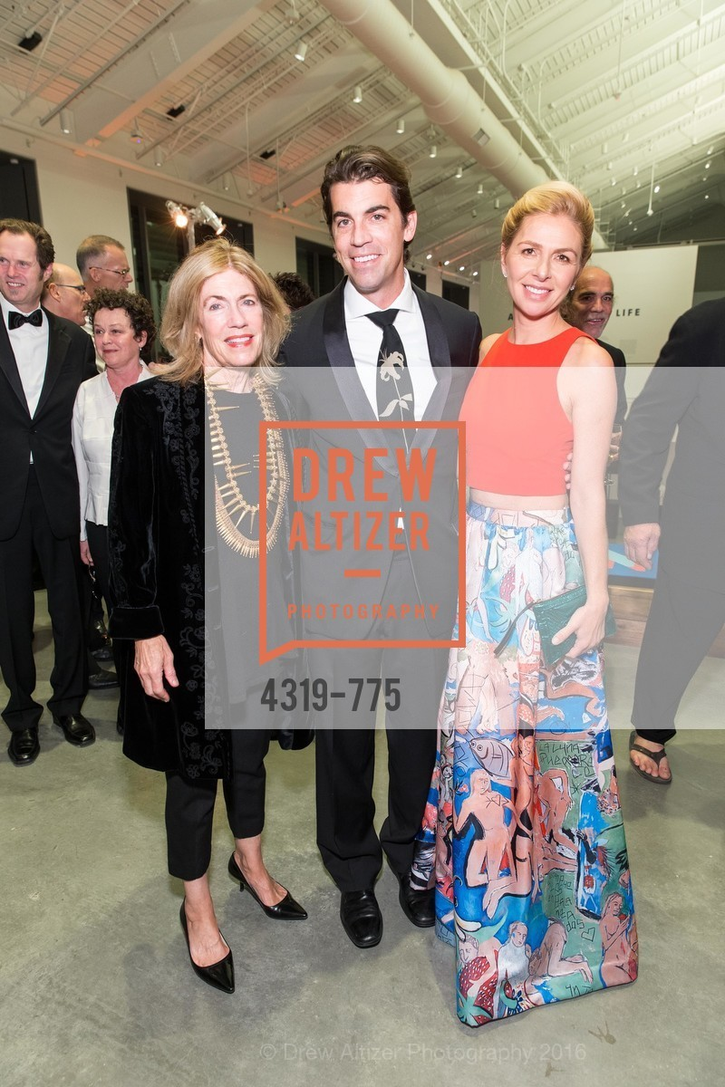 Cathy Topham, Ned Topham, Rachel Topham, UC Berkeley Art Museum & Pacific Film Archive Gala, BAMPFA. 2120 Oxford Street, January 28th, 2016,Drew Altizer, Drew Altizer Photography, full-service event agency, private events, San Francisco photographer, photographer California