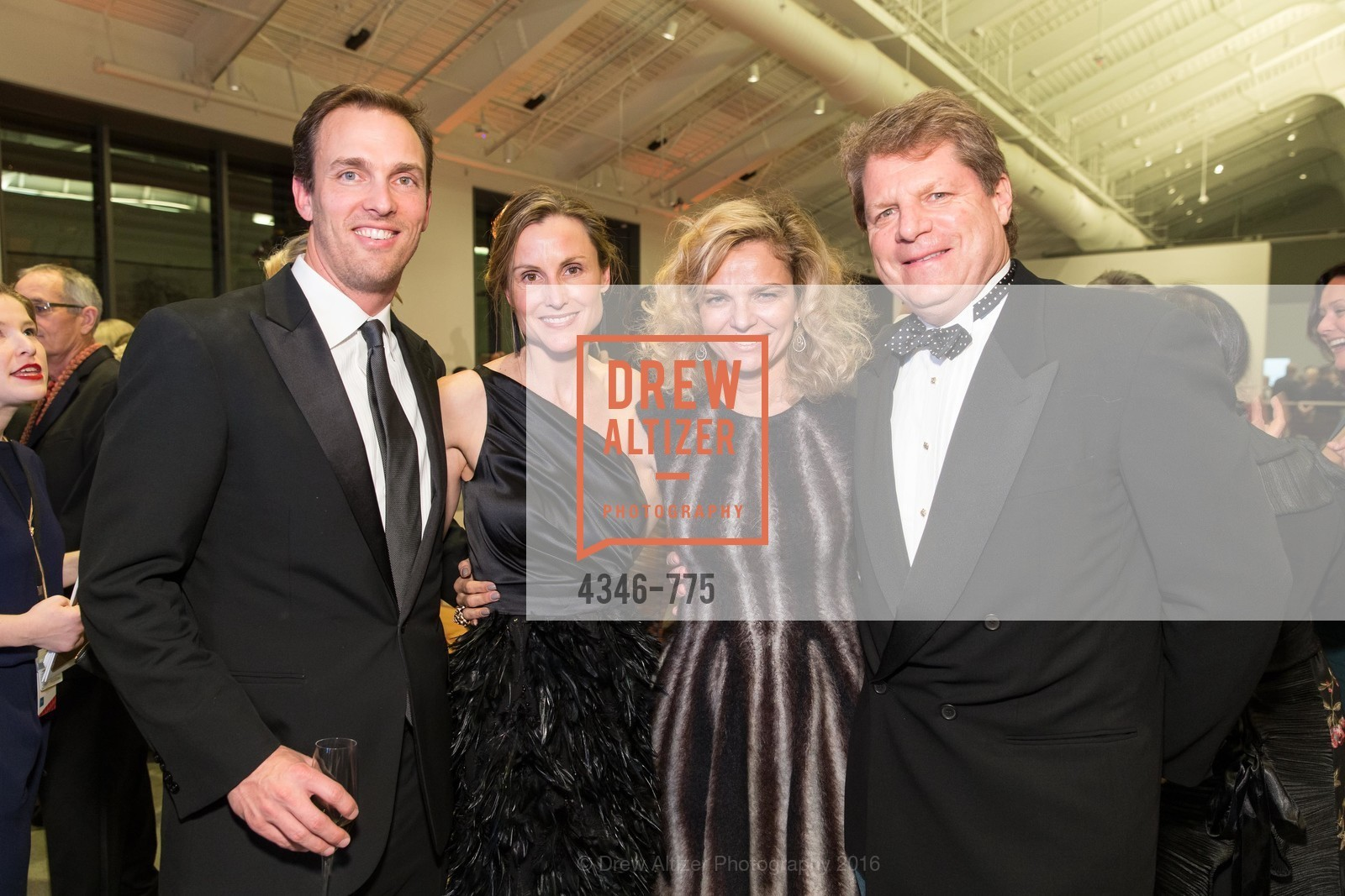 Alec Perkins, Serena Perkins, Leigh Matthes, Bill Matthes, UC Berkeley Art Museum & Pacific Film Archive Gala, BAMPFA. 2120 Oxford Street, January 28th, 2016,Drew Altizer, Drew Altizer Photography, full-service agency, private events, San Francisco photographer, photographer california