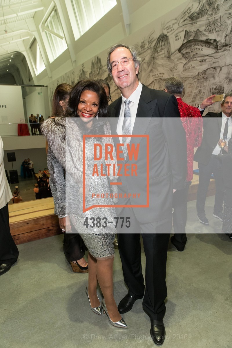 Pamela Joyner, Fred Giuffrida, UC Berkeley Art Museum & Pacific Film Archive Gala, BAMPFA. 2120 Oxford Street, January 28th, 2016,Drew Altizer, Drew Altizer Photography, full-service event agency, private events, San Francisco photographer, photographer California