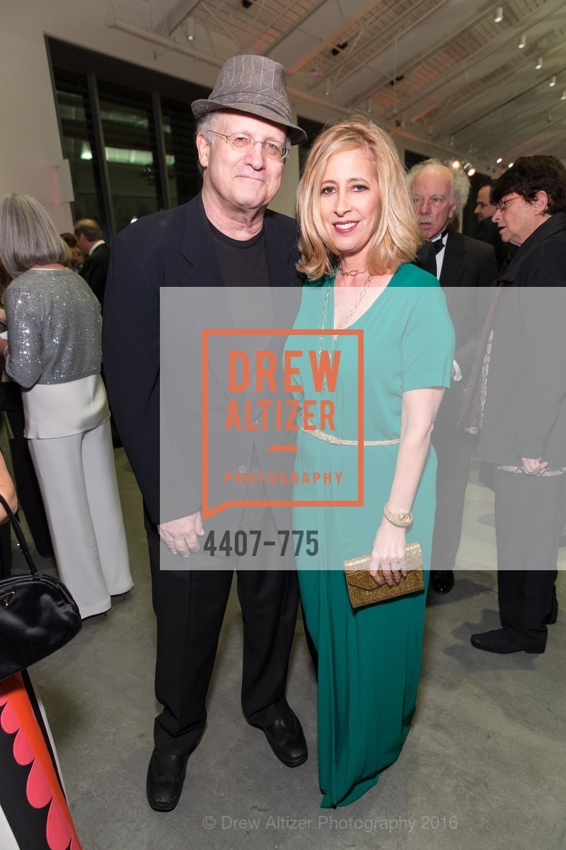 Albert Brooks, Kimberly Brooks, UC Berkeley Art Museum & Pacific Film Archive Gala, BAMPFA. 2120 Oxford Street, January 28th, 2016,Drew Altizer, Drew Altizer Photography, full-service agency, private events, San Francisco photographer, photographer california