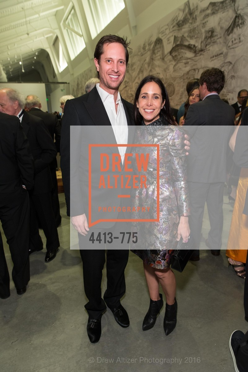 Jonathan Gans, Abigail Turin, UC Berkeley Art Museum & Pacific Film Archive Gala, BAMPFA. 2120 Oxford Street, January 28th, 2016,Drew Altizer, Drew Altizer Photography, full-service agency, private events, San Francisco photographer, photographer california