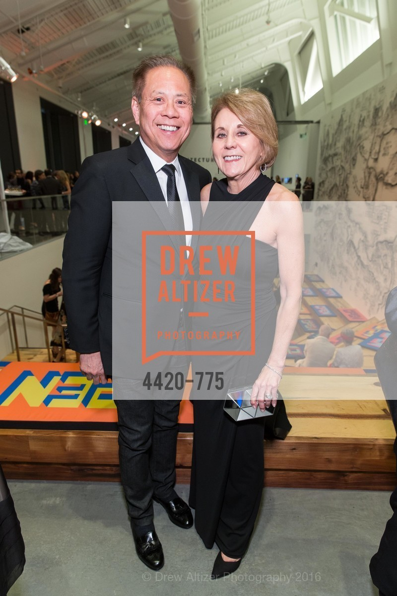 Marv Tseu, Mary Mocas, UC Berkeley Art Museum & Pacific Film Archive Gala, BAMPFA. 2120 Oxford Street, January 28th, 2016,Drew Altizer, Drew Altizer Photography, full-service agency, private events, San Francisco photographer, photographer california