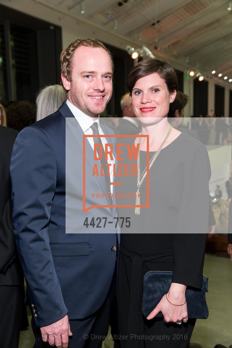 Hesse McGraw, Cobi Newton, UC Berkeley Art Museum & Pacific Film Archive Gala, BAMPFA. 2120 Oxford Street, January 28th, 2016,Drew Altizer, Drew Altizer Photography, full-service agency, private events, San Francisco photographer, photographer california