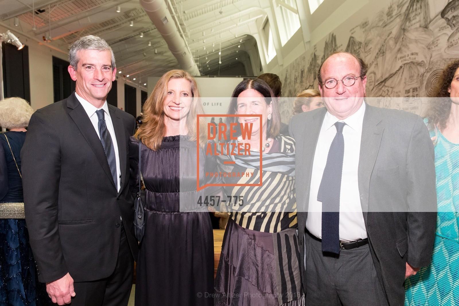 Bud Nagle, Laura Nagle, Ellanor Notides, Russell Notides, UC Berkeley Art Museum & Pacific Film Archive Gala, BAMPFA. 2120 Oxford Street, January 28th, 2016,Drew Altizer, Drew Altizer Photography, full-service agency, private events, San Francisco photographer, photographer california