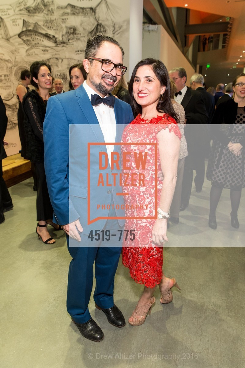 James Joaquin, Zem Joaquin, UC Berkeley Art Museum & Pacific Film Archive Gala, BAMPFA. 2120 Oxford Street, January 28th, 2016,Drew Altizer, Drew Altizer Photography, full-service agency, private events, San Francisco photographer, photographer california