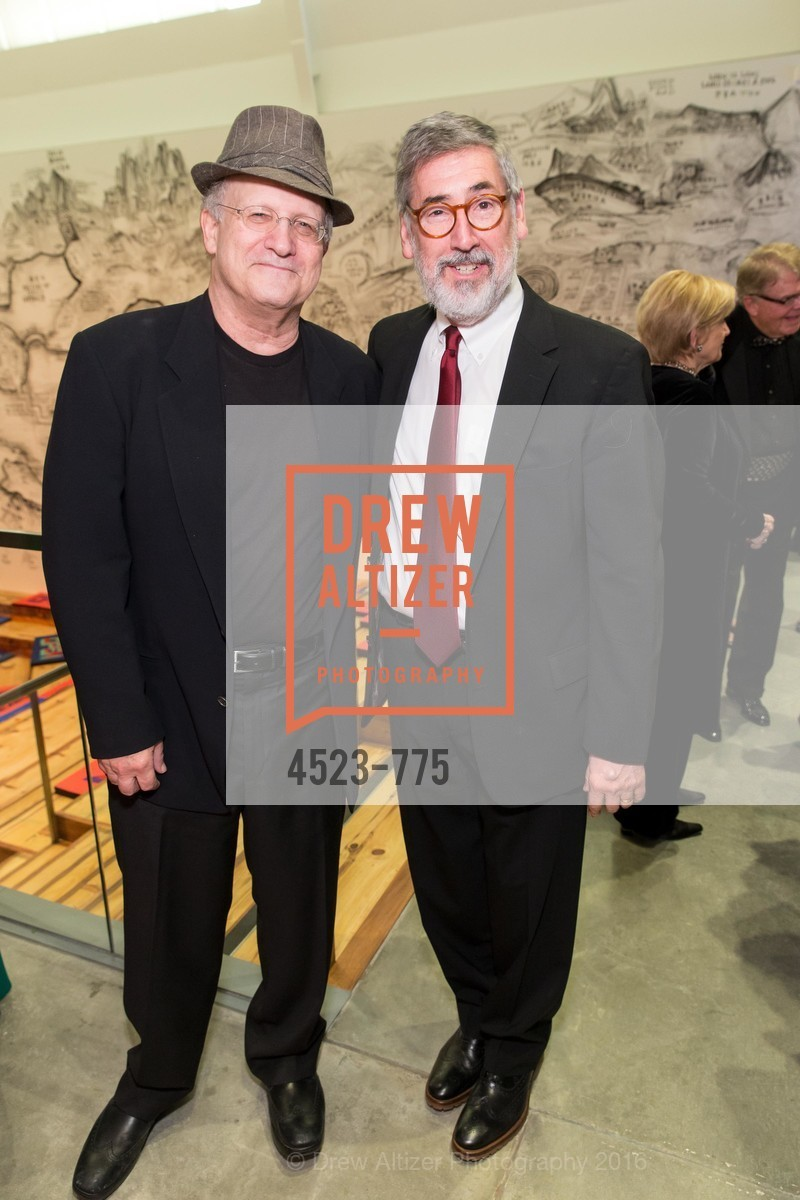 Albert Brooks, John Landis, UC Berkeley Art Museum & Pacific Film Archive Gala, BAMPFA. 2120 Oxford Street, January 28th, 2016,Drew Altizer, Drew Altizer Photography, full-service agency, private events, San Francisco photographer, photographer california