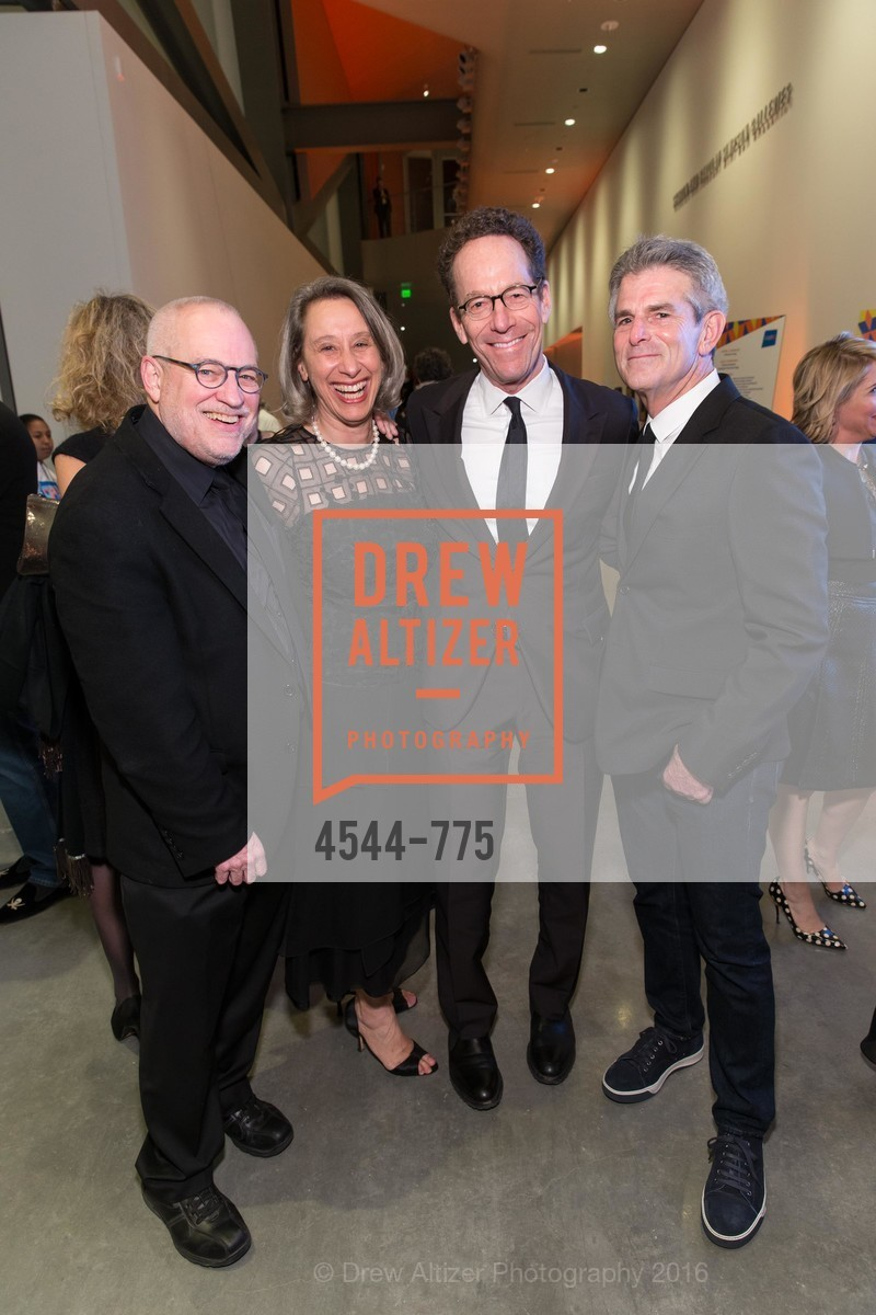 Gary Garrel, Connie Wolf, Alan Mark, Jeffrey Fraenkel, UC Berkeley Art Museum & Pacific Film Archive Gala, BAMPFA. 2120 Oxford Street, January 28th, 2016,Drew Altizer, Drew Altizer Photography, full-service agency, private events, San Francisco photographer, photographer california