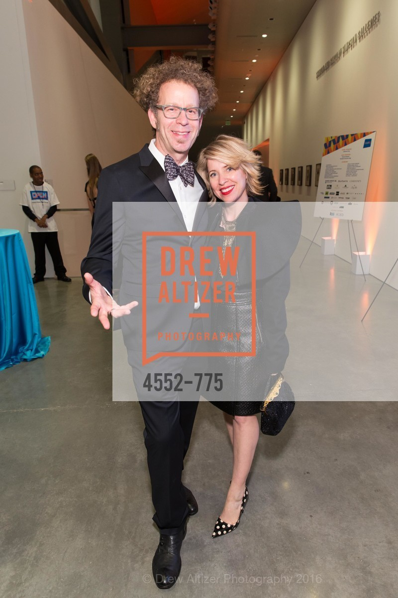 Ken Goldberg, Tiffany Shlain, UC Berkeley Art Museum & Pacific Film Archive Gala, BAMPFA. 2120 Oxford Street, January 28th, 2016,Drew Altizer, Drew Altizer Photography, full-service agency, private events, San Francisco photographer, photographer california