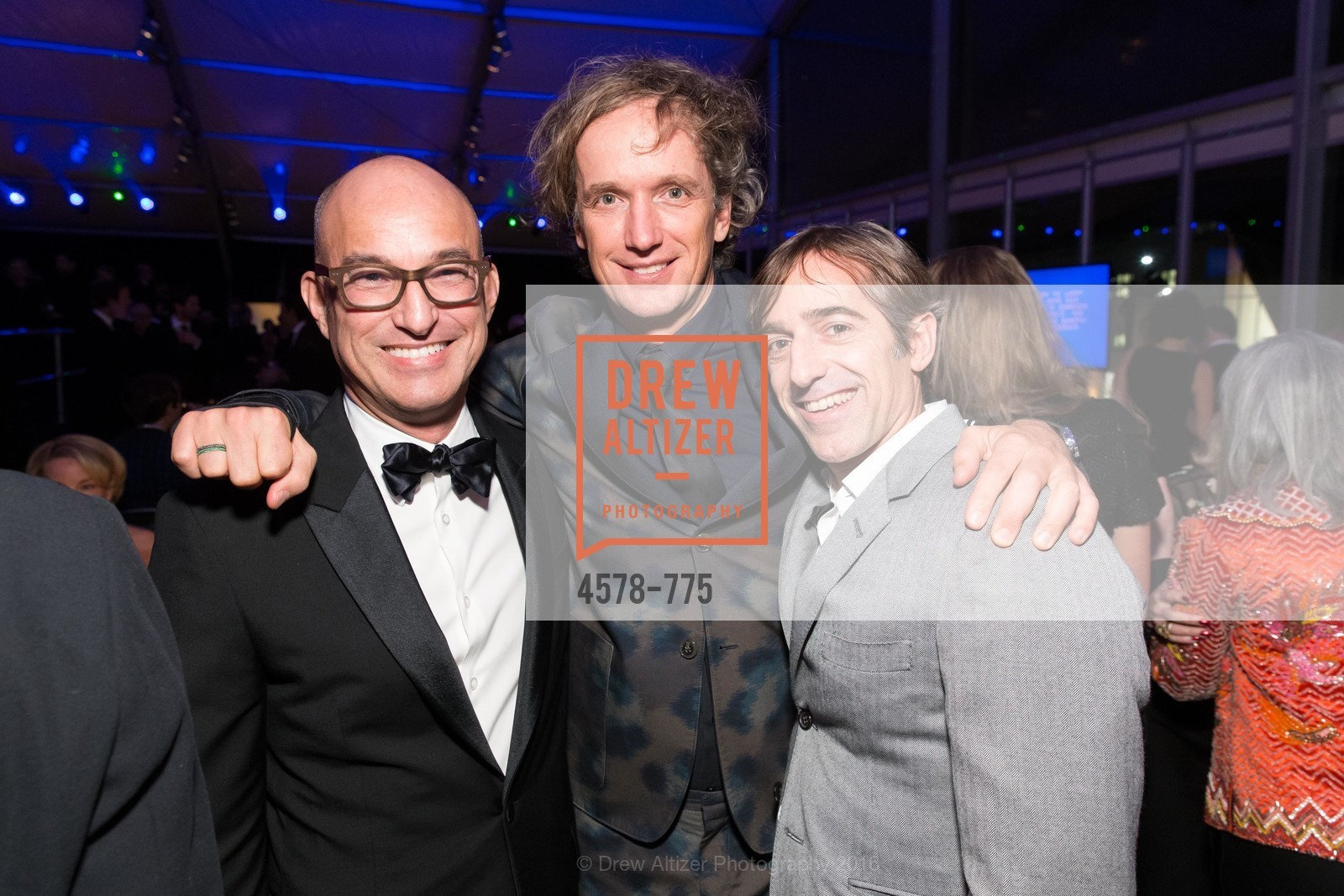 Eric McDougall, Yves Behar, Mark Pincus, UC Berkeley Art Museum & Pacific Film Archive Gala, BAMPFA. 2120 Oxford Street, January 28th, 2016,Drew Altizer, Drew Altizer Photography, full-service agency, private events, San Francisco photographer, photographer california