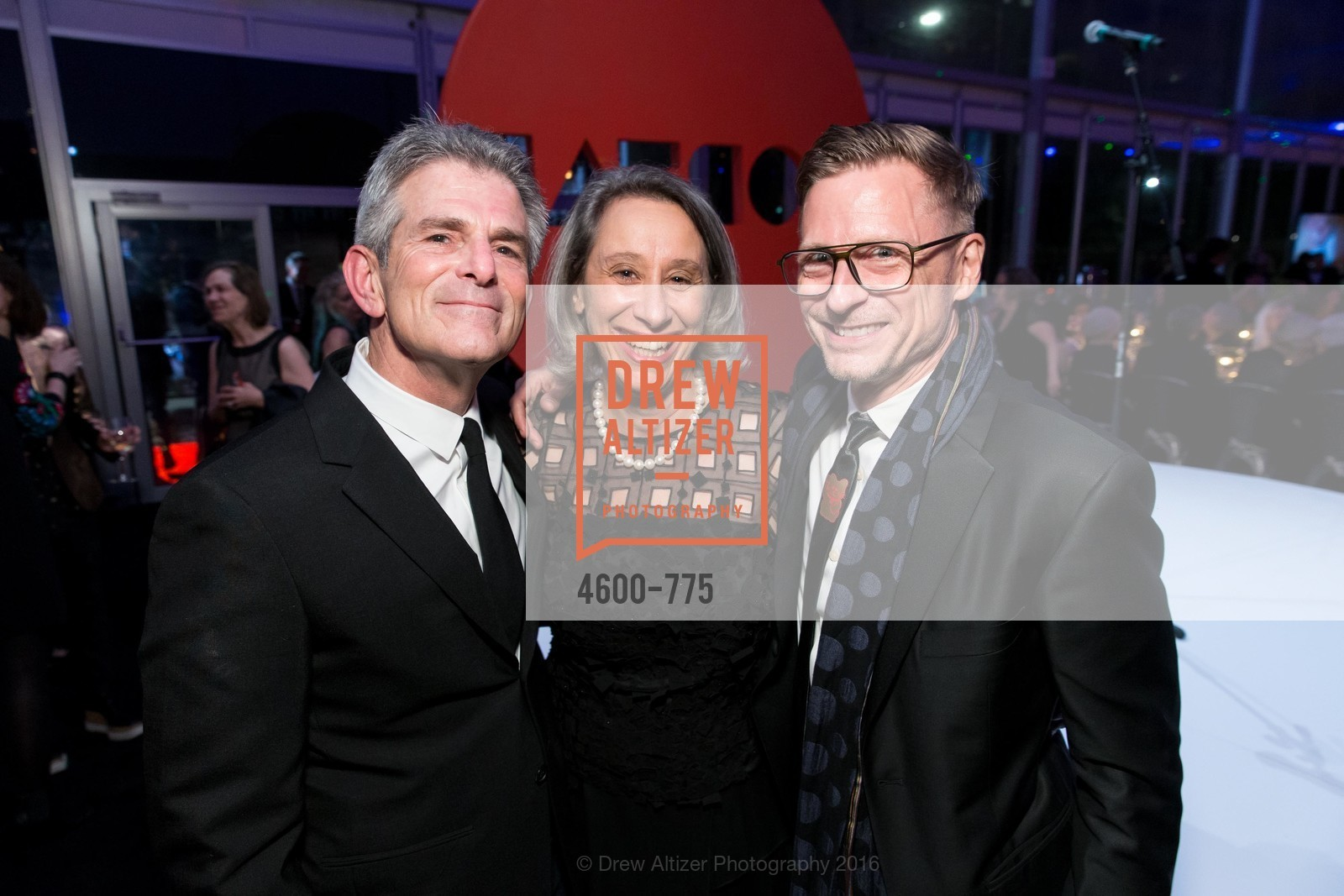 Jeffrey Fraenkel, Connie Wolf, Charles Renfro, UC Berkeley Art Museum & Pacific Film Archive Gala, BAMPFA. 2120 Oxford Street, January 28th, 2016,Drew Altizer, Drew Altizer Photography, full-service agency, private events, San Francisco photographer, photographer california