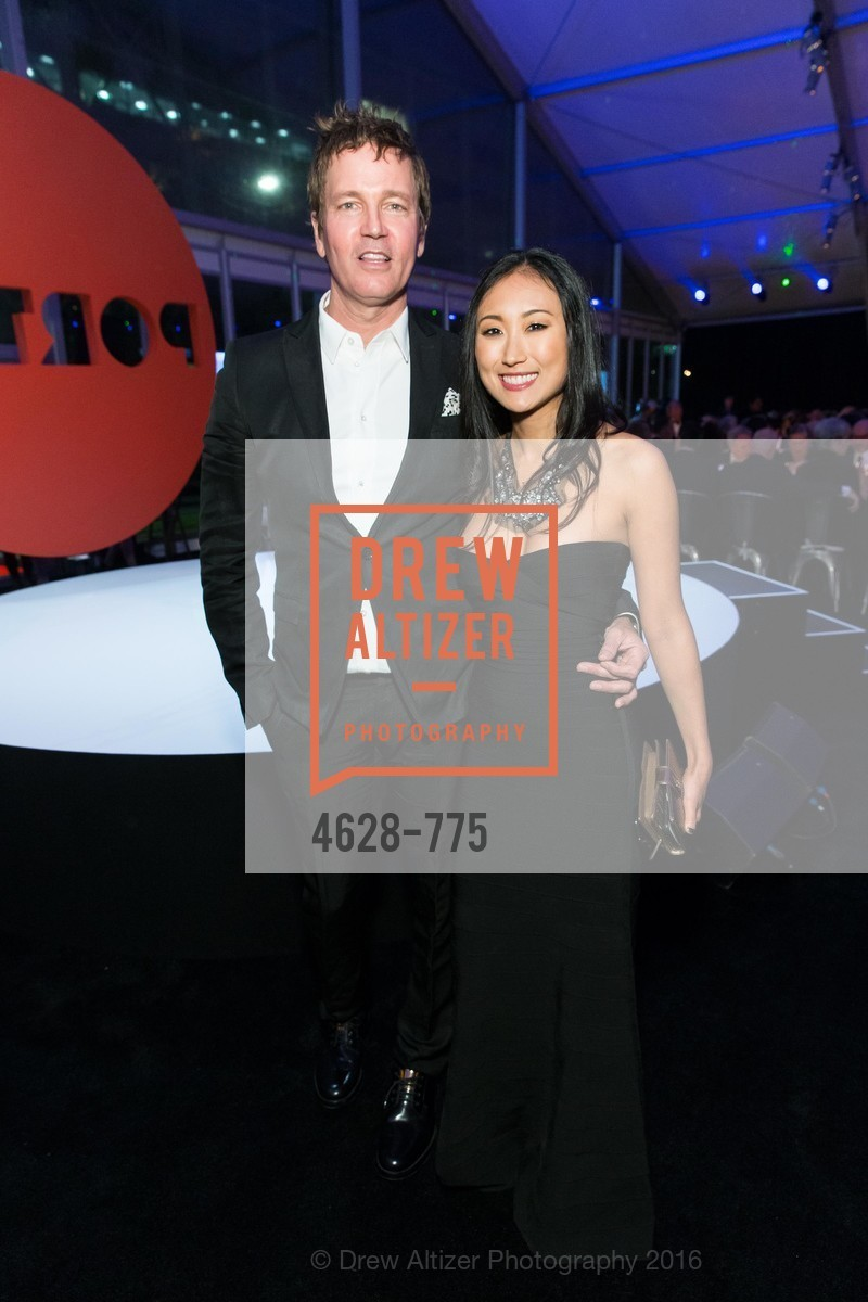 Stephan Jenkins, Mimi Connery, UC Berkeley Art Museum & Pacific Film Archive Gala, BAMPFA. 2120 Oxford Street, January 28th, 2016,Drew Altizer, Drew Altizer Photography, full-service agency, private events, San Francisco photographer, photographer california