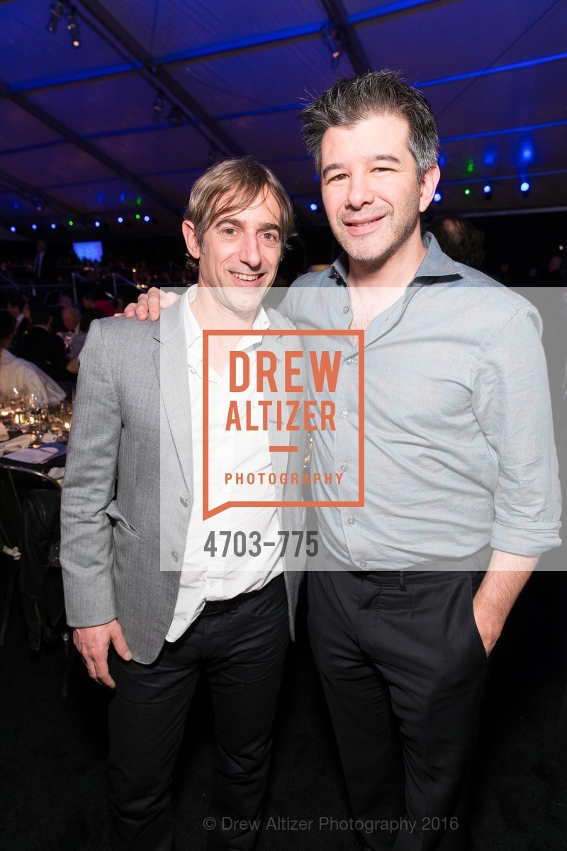 Mark Pincus, Travis Kalanick, UC Berkeley Art Museum & Pacific Film Archive Gala, BAMPFA. 2120 Oxford Street, January 28th, 2016,Drew Altizer, Drew Altizer Photography, full-service agency, private events, San Francisco photographer, photographer california