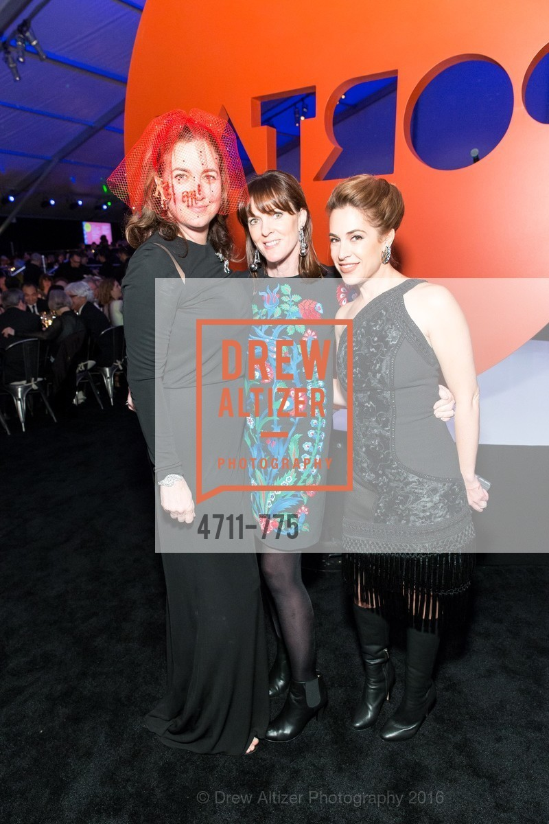 Alexis Traina, Allison Speer, Ali Pincus, UC Berkeley Art Museum & Pacific Film Archive Gala, BAMPFA. 2120 Oxford Street, January 28th, 2016,Drew Altizer, Drew Altizer Photography, full-service agency, private events, San Francisco photographer, photographer california