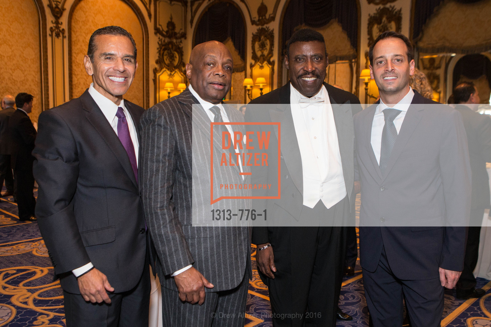 Antonio Villaraigosa, Willie Brown, Ricardo Scales, Joe Alioto, Wilkes Bashford Funeral, Grace Cathedral. 1100 California St, January 29th, 2016,Drew Altizer, Drew Altizer Photography, full-service agency, private events, San Francisco photographer, photographer california