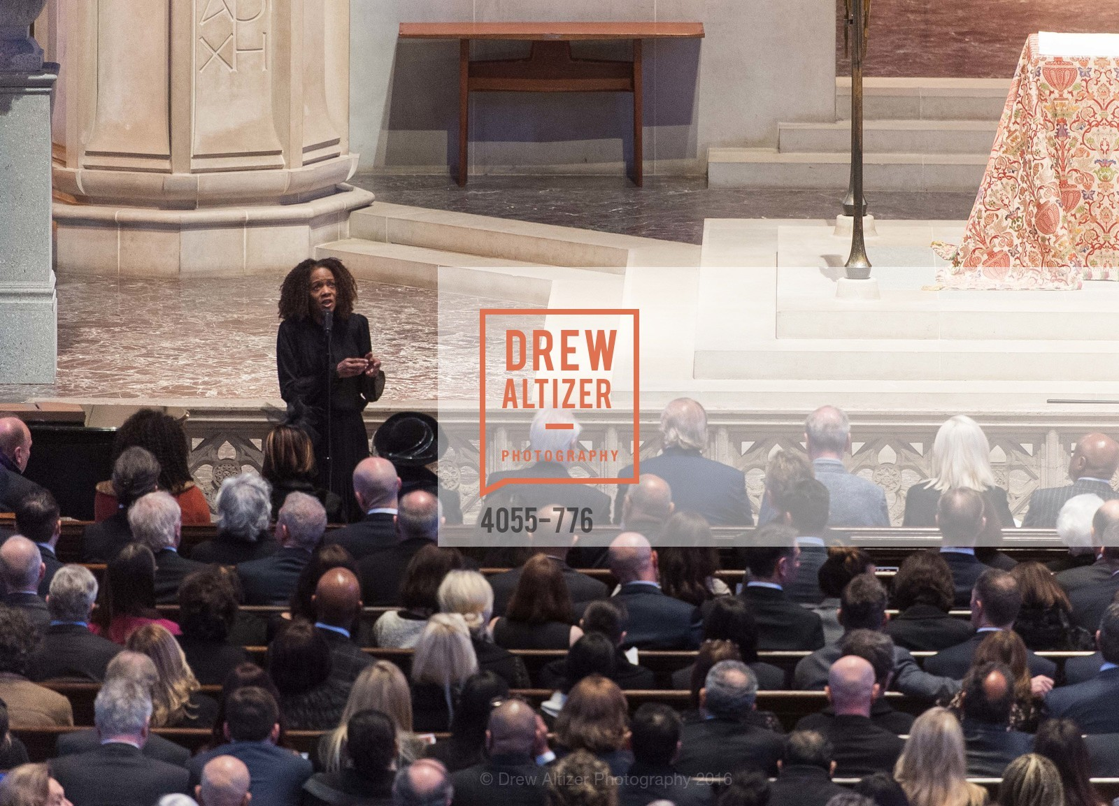 Paula West, Wilkes Bashford Funeral, Grace Cathedral. 1100 California St, January 29th, 2016,Drew Altizer, Drew Altizer Photography, full-service agency, private events, San Francisco photographer, photographer california
