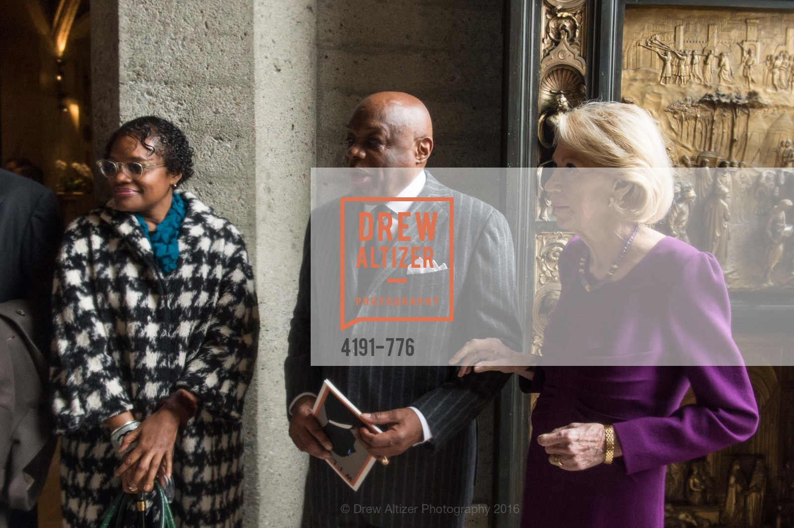 Susan Brown, Willie Brown, Charlotte Shultz, Wilkes Bashford Funeral, Grace Cathedral. 1100 California St, January 29th, 2016,Drew Altizer, Drew Altizer Photography, full-service agency, private events, San Francisco photographer, photographer california