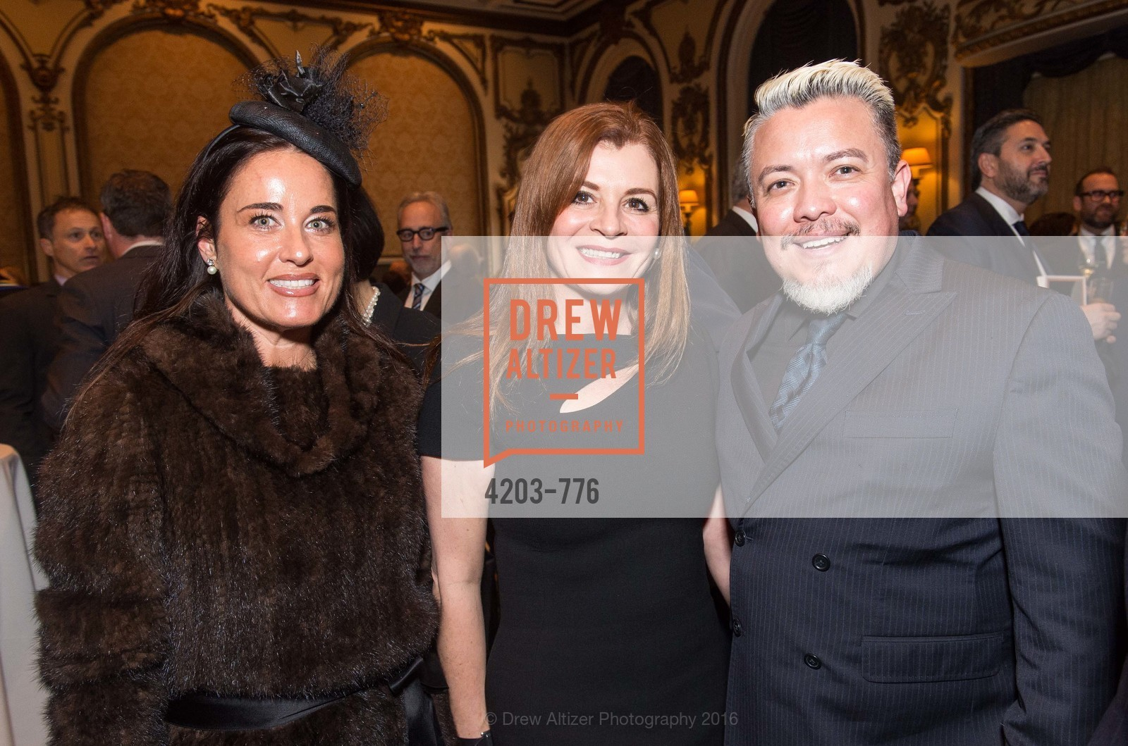 Natalia Urrutia, Farah Makras, Victor Vargas, Wilkes Bashford Funeral, Grace Cathedral. 1100 California St, January 29th, 2016,Drew Altizer, Drew Altizer Photography, full-service agency, private events, San Francisco photographer, photographer california