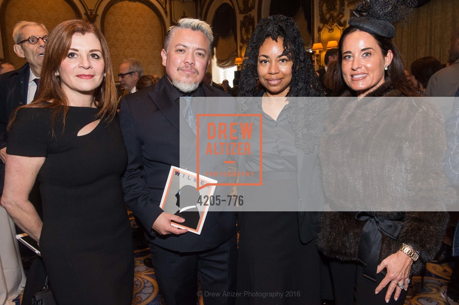Farah Makras, Victor Vargas, Tanya Powell, Natalia Urrutia, Wilkes Bashford Funeral, Grace Cathedral. 1100 California St, January 29th, 2016,Drew Altizer, Drew Altizer Photography, full-service agency, private events, San Francisco photographer, photographer california