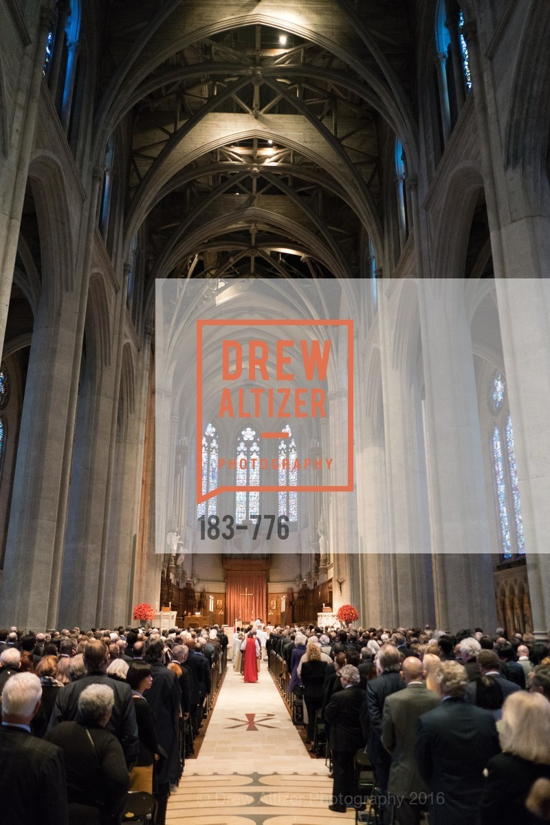Funeral Service, Wilkes Bashford Funeral, Grace Cathedral. 1100 California St, January 29th, 2016,Drew Altizer, Drew Altizer Photography, full-service event agency, private events, San Francisco photographer, photographer California