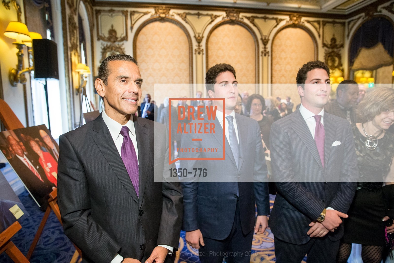 Antonio Villaraigosa, Matthew Goldman, Jason Goldman, Wilkes Bashford Funeral, Grace Cathedral. 1100 California St, January 29th, 2016,Drew Altizer, Drew Altizer Photography, full-service agency, private events, San Francisco photographer, photographer california