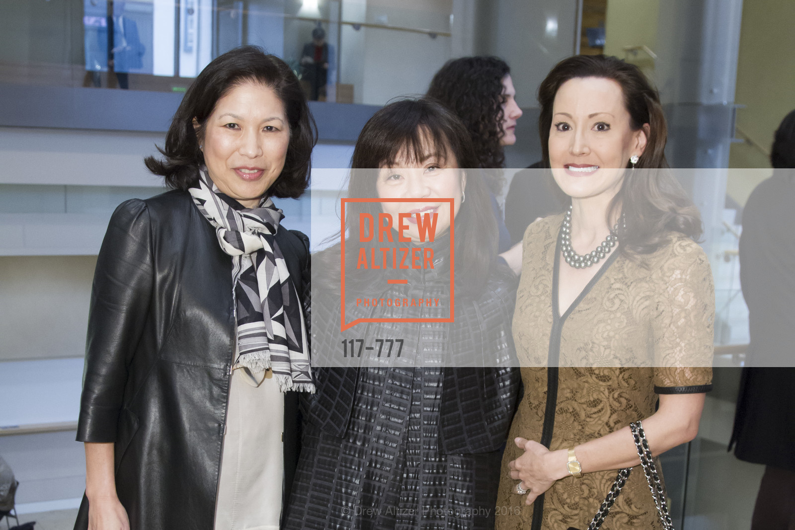 Doreen Lo, Rebecca-Sen Chan, Monique Apatoff, The San Francisco Conservatory of Music Fanfare Luncheon, San Francisco Conservatory of Music. 50 Oak Street, January 29th, 2016,Drew Altizer, Drew Altizer Photography, full-service agency, private events, San Francisco photographer, photographer california