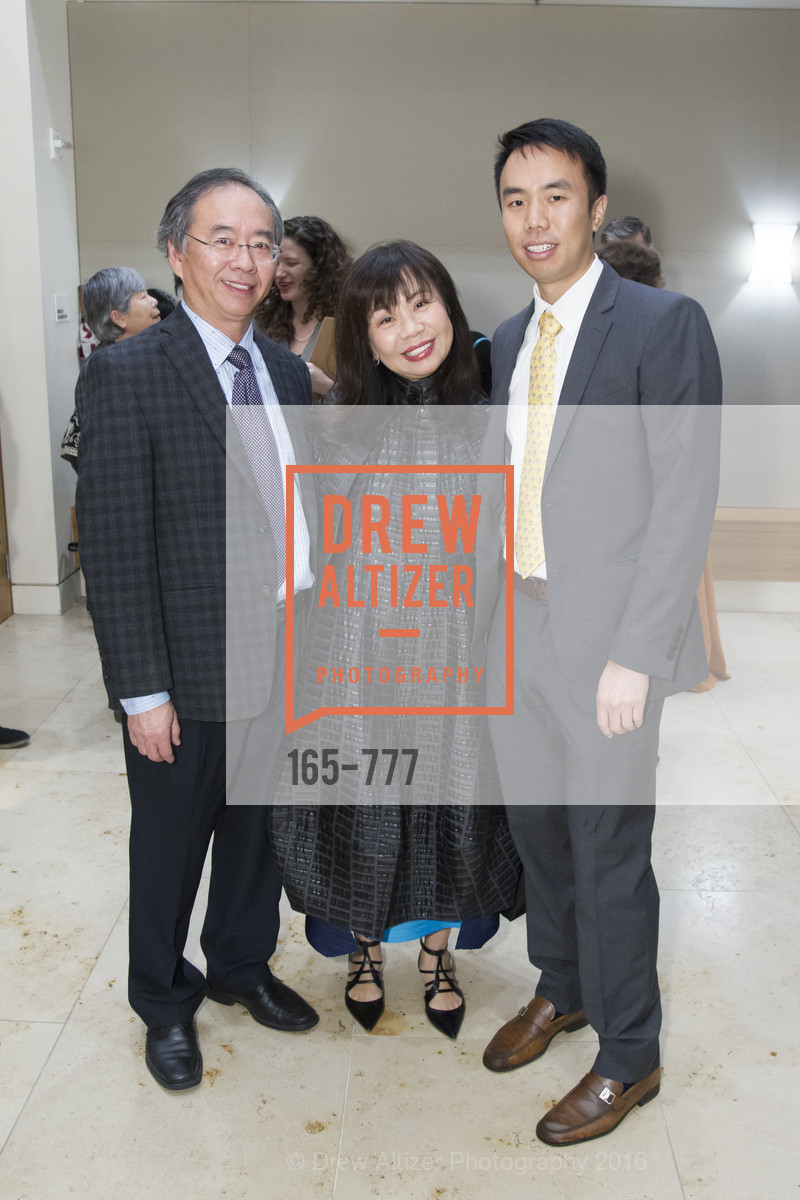 Chi-Foon Chan, Rebecca-Sen Chan, Andrew Chan, The San Francisco Conservatory of Music Fanfare Luncheon, San Francisco Conservatory of Music. 50 Oak Street, January 29th, 2016,Drew Altizer, Drew Altizer Photography, full-service agency, private events, San Francisco photographer, photographer california