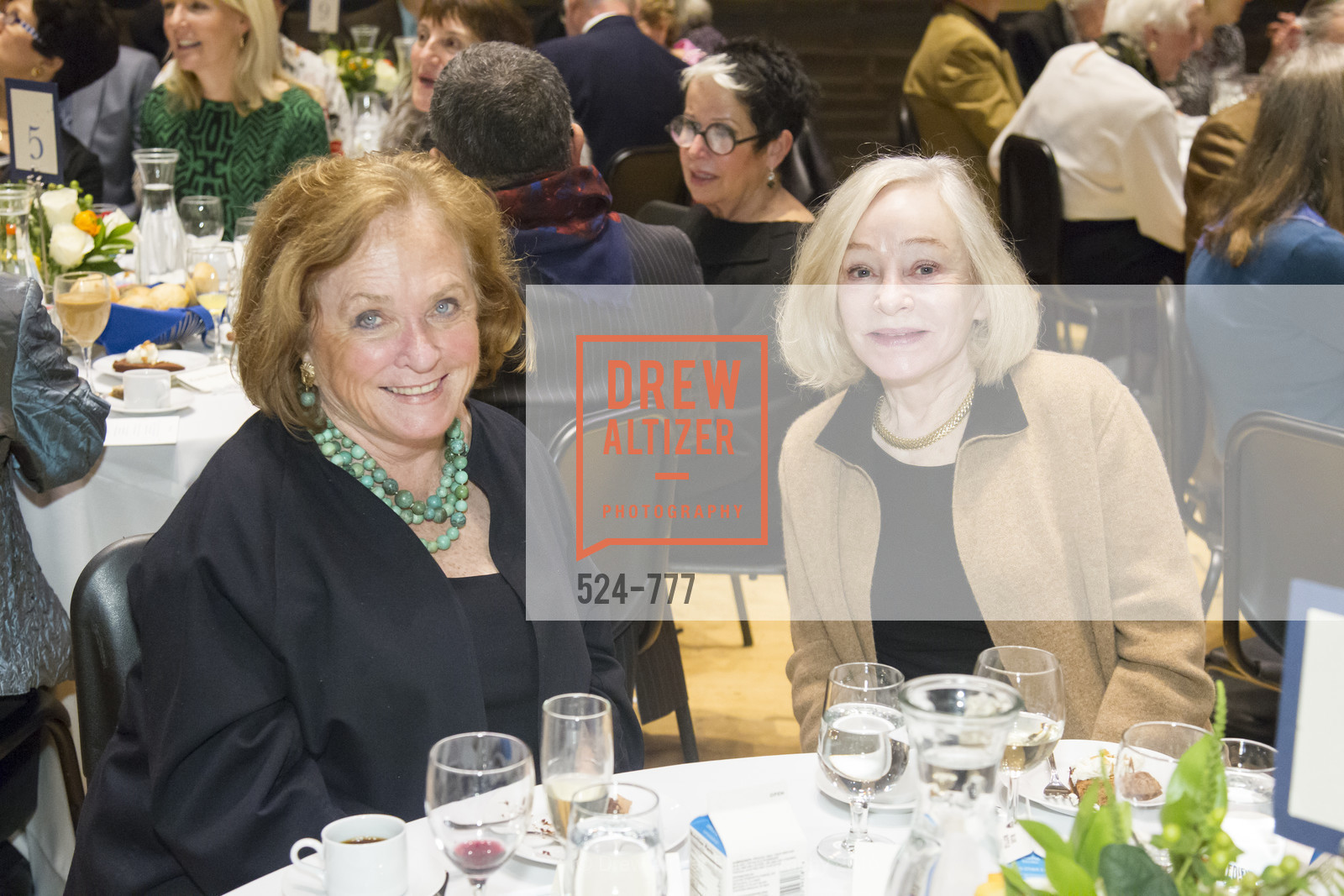 Maura Morey, Gretchen Kimball, The San Francisco Conservatory of Music Fanfare Luncheon, San Francisco Conservatory of Music. 50 Oak Street, January 29th, 2016,Drew Altizer, Drew Altizer Photography, full-service agency, private events, San Francisco photographer, photographer california