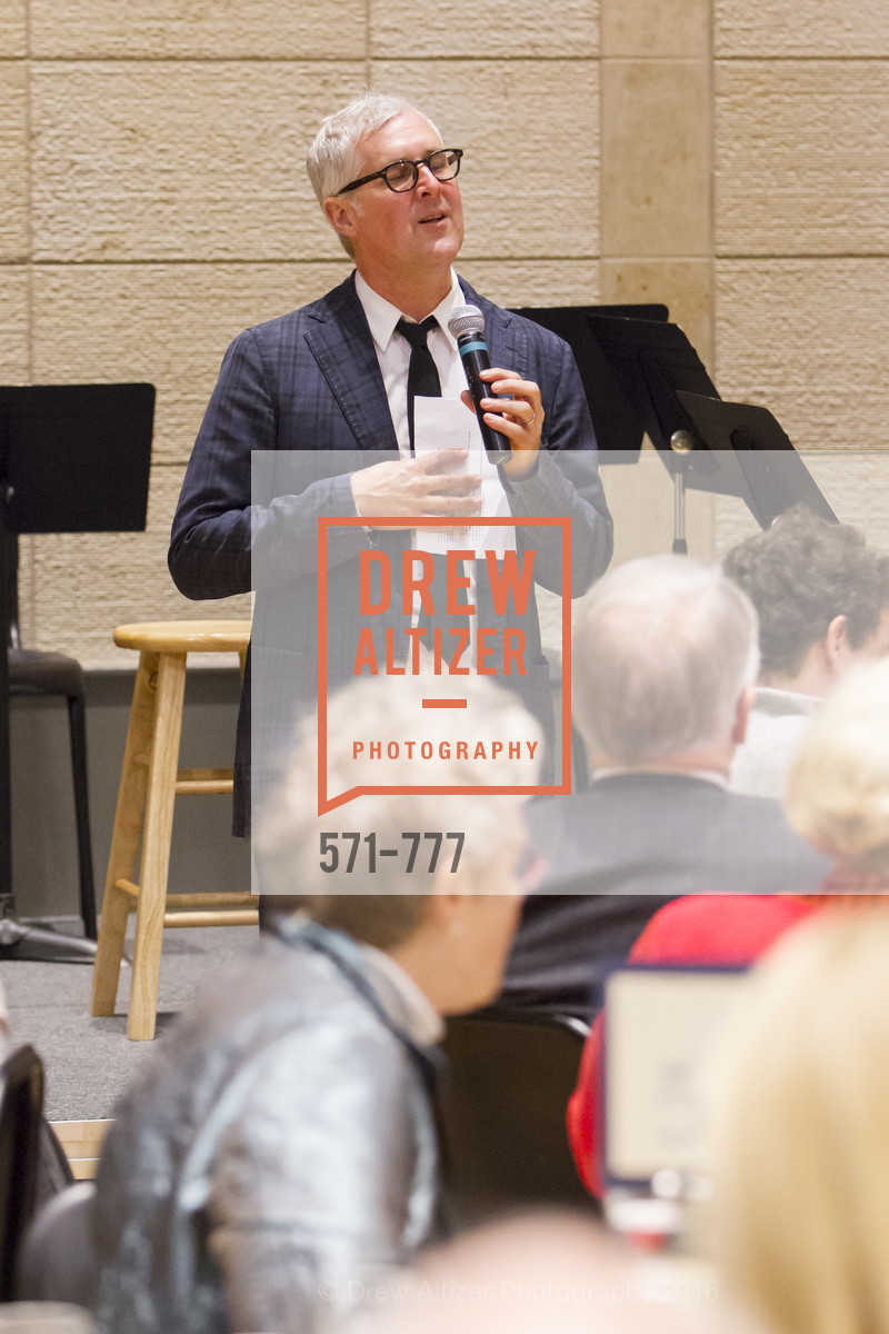 James Freeman, The San Francisco Conservatory of Music Fanfare Luncheon, San Francisco Conservatory of Music. 50 Oak Street, January 29th, 2016,Drew Altizer, Drew Altizer Photography, full-service agency, private events, San Francisco photographer, photographer california