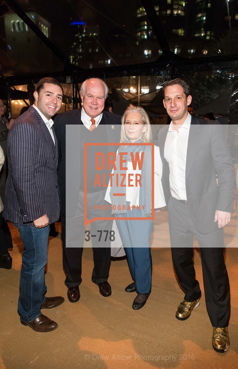 Jed York, Pat Gallagher, Mimi Haas, Daniel Lurie, The Bay Lights Grand Relighting Celebration, Epic Steakhouse. 369 The Embarcadero, January 29th, 2016,Drew Altizer, Drew Altizer Photography, full-service agency, private events, San Francisco photographer, photographer california