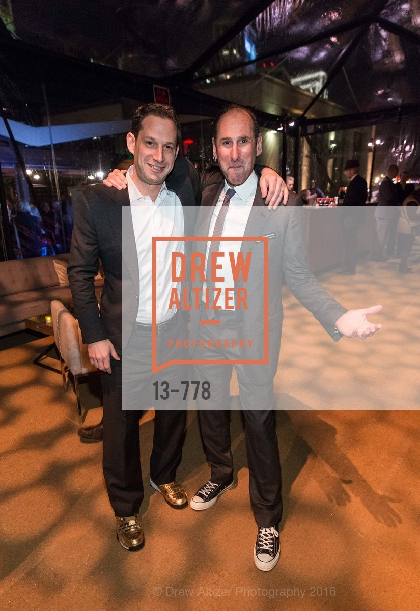 Daniel Lurie, Rich Silverstein, The Bay Lights Grand Relighting Celebration, Epic Steakhouse. 369 The Embarcadero, January 29th, 2016,Drew Altizer, Drew Altizer Photography, full-service agency, private events, San Francisco photographer, photographer california