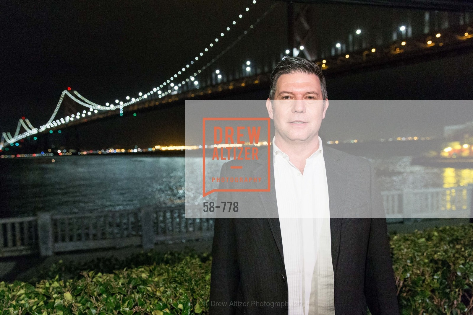 Leo Villareal, The Bay Lights Grand Relighting Celebration, Epic Steakhouse. 369 The Embarcadero, January 29th, 2016,Drew Altizer, Drew Altizer Photography, full-service agency, private events, San Francisco photographer, photographer california