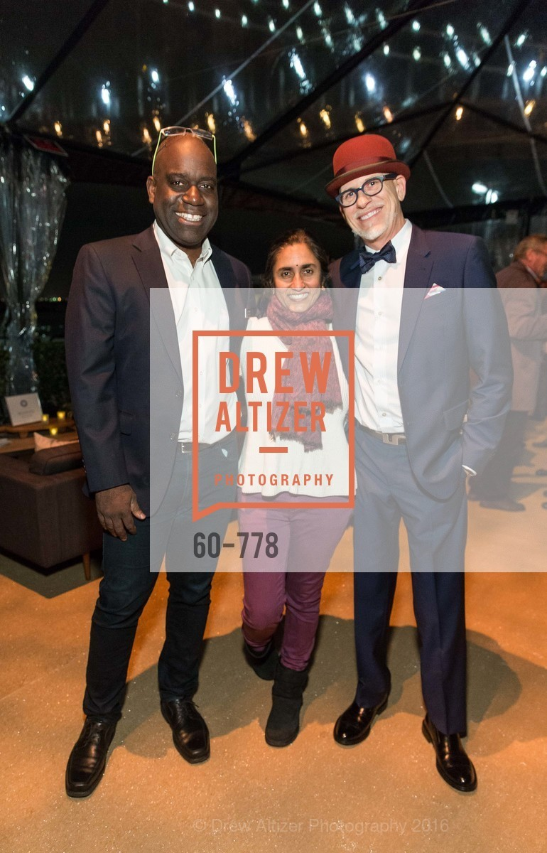 Felix Ejeckam, Lalita Vaidyanathan, Matthew Tudor-Jackson, The Bay Lights Grand Relighting Celebration, Epic Steakhouse. 369 The Embarcadero, January 29th, 2016,Drew Altizer, Drew Altizer Photography, full-service agency, private events, San Francisco photographer, photographer california