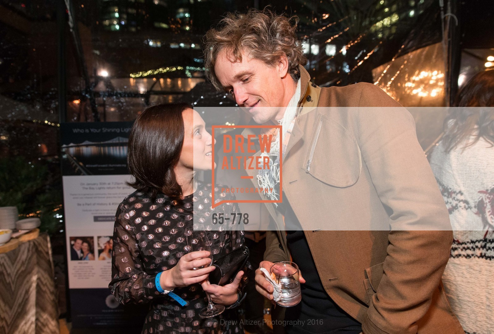 Becca Prowda, Yves Behar, The Bay Lights Grand Relighting Celebration, Epic Steakhouse. 369 The Embarcadero, January 29th, 2016,Drew Altizer, Drew Altizer Photography, full-service agency, private events, San Francisco photographer, photographer california