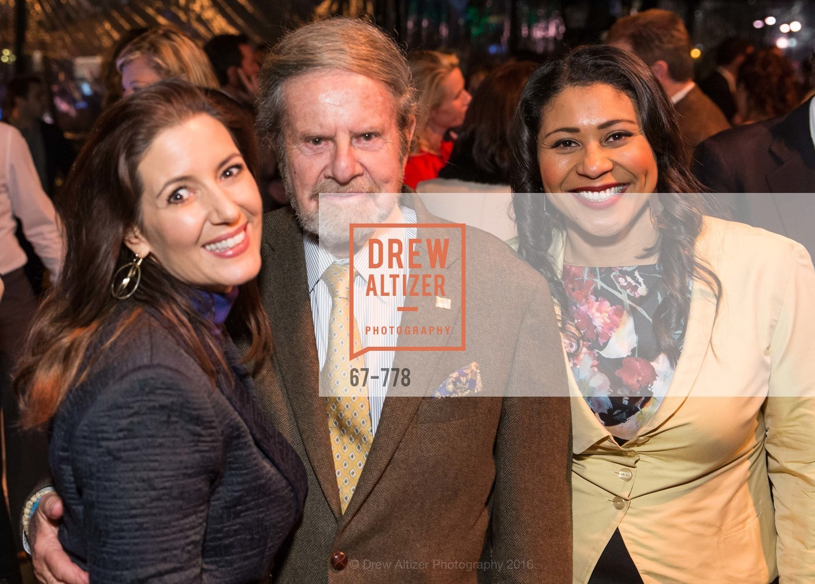 Libby Schaff, Tad Taube, London Breed, The Bay Lights Grand Relighting Celebration, Epic Steakhouse. 369 The Embarcadero, January 29th, 2016,Drew Altizer, Drew Altizer Photography, full-service agency, private events, San Francisco photographer, photographer california