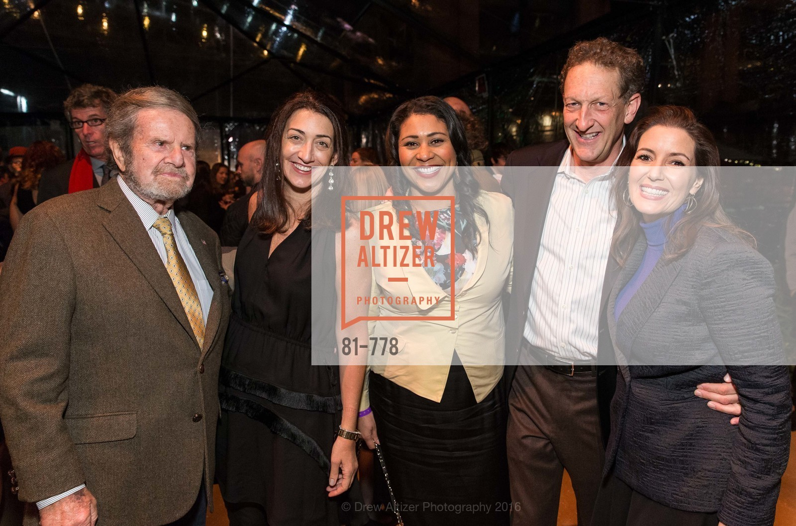 Tad Taube, Pam Baer, London Breed, Larry Baer, Libby Schaaf, The Bay Lights Grand Relighting Celebration, Epic Steakhouse. 369 The Embarcadero, January 29th, 2016,Drew Altizer, Drew Altizer Photography, full-service event agency, private events, San Francisco photographer, photographer California
