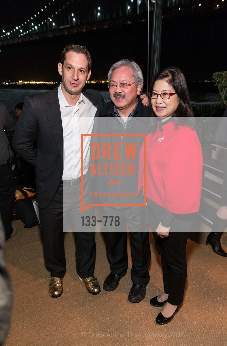Daniel Lurie, Ed Lee, Anita Lee, The Bay Lights Grand Relighting Celebration, Epic Steakhouse. 369 The Embarcadero, January 29th, 2016,Drew Altizer, Drew Altizer Photography, full-service agency, private events, San Francisco photographer, photographer california