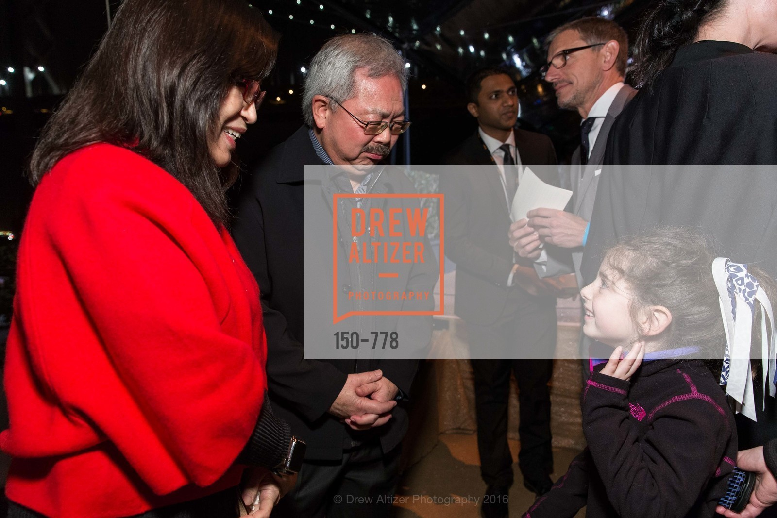 Anita Lee, Ed Lee, Bella Kaufman, The Bay Lights Grand Relighting Celebration, Epic Steakhouse. 369 The Embarcadero, January 29th, 2016,Drew Altizer, Drew Altizer Photography, full-service agency, private events, San Francisco photographer, photographer california