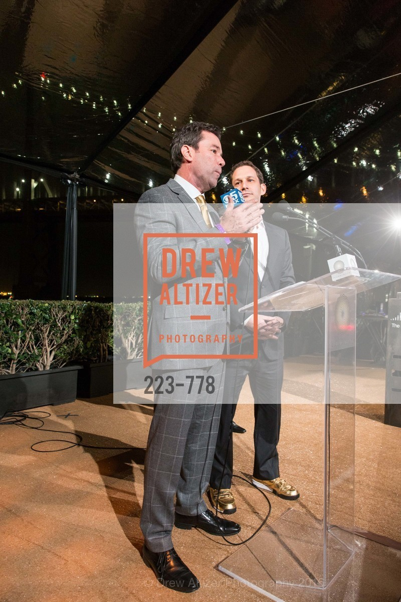 Keith Bruce, Daniel Lurie, The Bay Lights Grand Relighting Celebration, Epic Steakhouse. 369 The Embarcadero, January 29th, 2016,Drew Altizer, Drew Altizer Photography, full-service agency, private events, San Francisco photographer, photographer california
