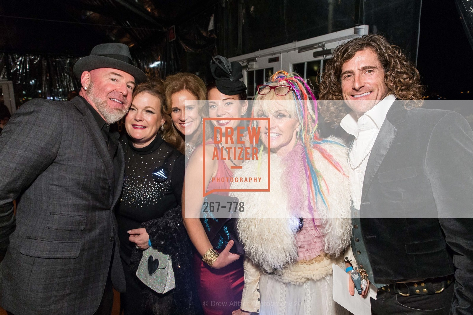 Christopher Bently, Jennifer Raiser, Brenda Jewett, Camille Bently, Deb Windham, Brian Herman, The Bay Lights Grand Relighting Celebration, Epic Steakhouse. 369 The Embarcadero, January 29th, 2016,Drew Altizer, Drew Altizer Photography, full-service agency, private events, San Francisco photographer, photographer california