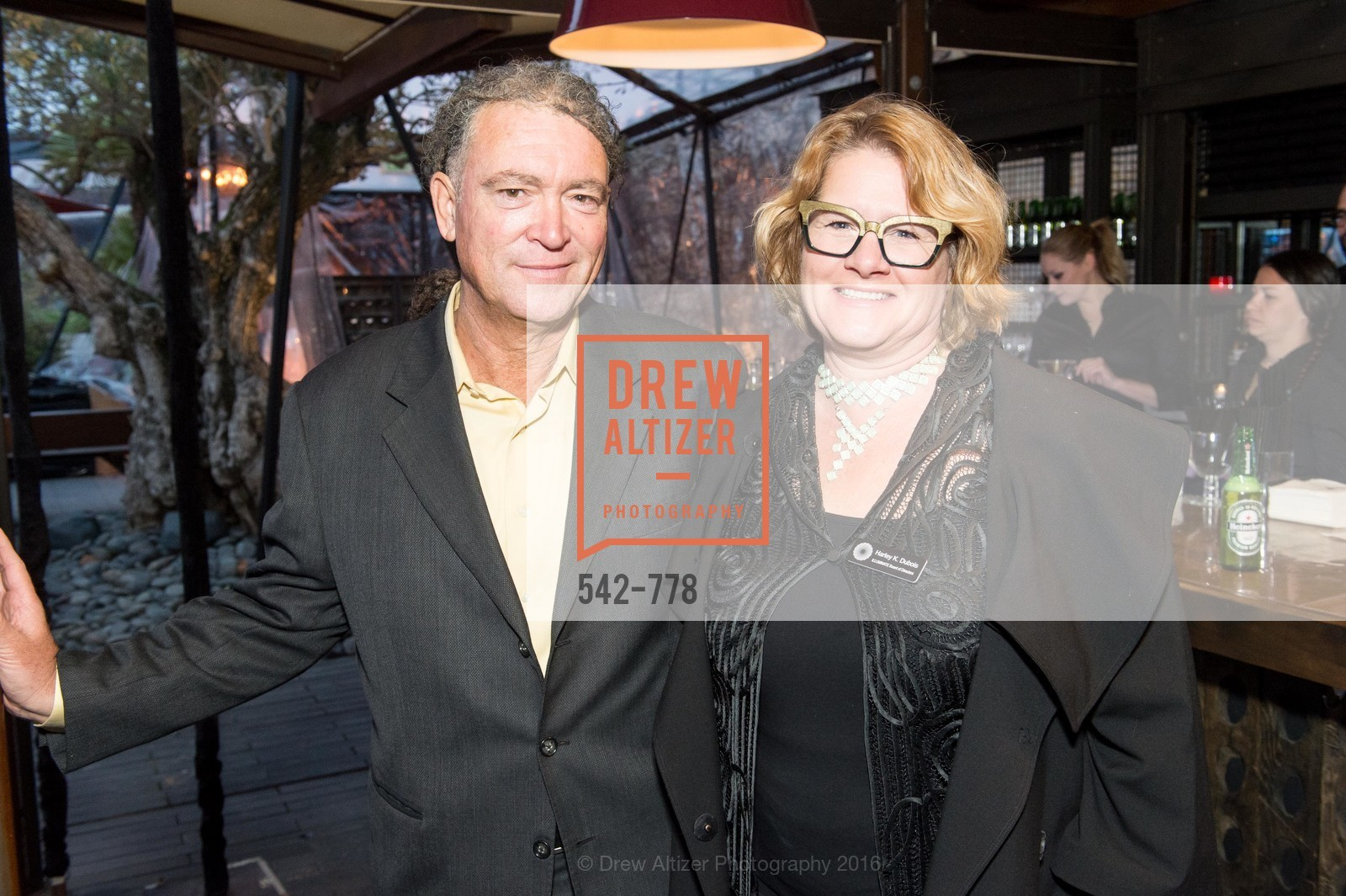 Paul Dubois, Harley K. Dubois, The Bay Lights Grand Relighting Celebration, Epic Steakhouse. 369 The Embarcadero, January 29th, 2016,Drew Altizer, Drew Altizer Photography, full-service agency, private events, San Francisco photographer, photographer california