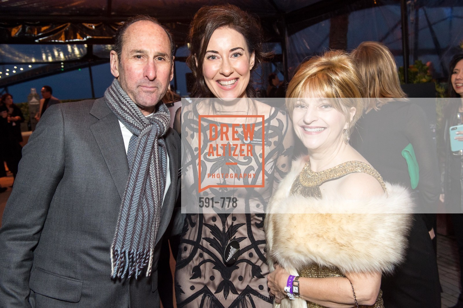 Rich Silverstein, Vanessa Inn, Jillian Elliott, The Bay Lights Grand Relighting Celebration, Epic Steakhouse. 369 The Embarcadero, January 29th, 2016,Drew Altizer, Drew Altizer Photography, full-service agency, private events, San Francisco photographer, photographer california