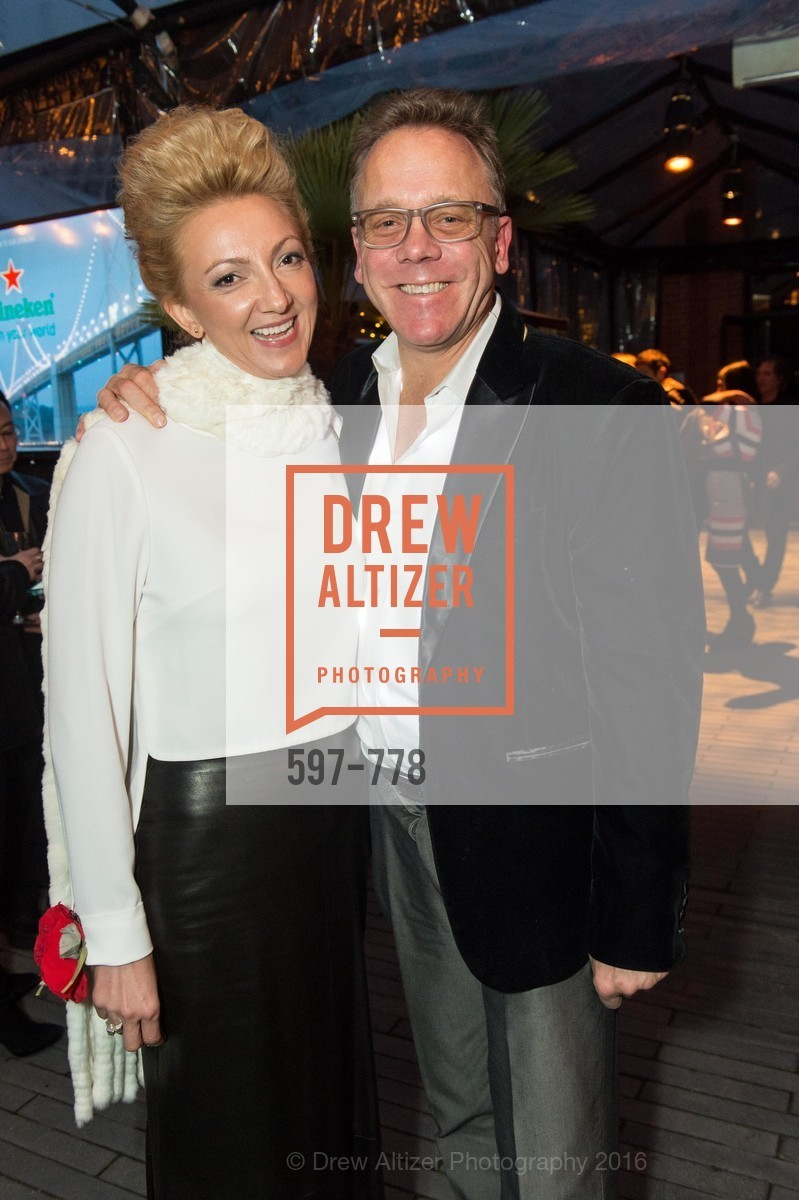 Inessa Obenhuber, Timothy Childs, The Bay Lights Grand Relighting Celebration, Epic Steakhouse. 369 The Embarcadero, January 29th, 2016,Drew Altizer, Drew Altizer Photography, full-service agency, private events, San Francisco photographer, photographer california