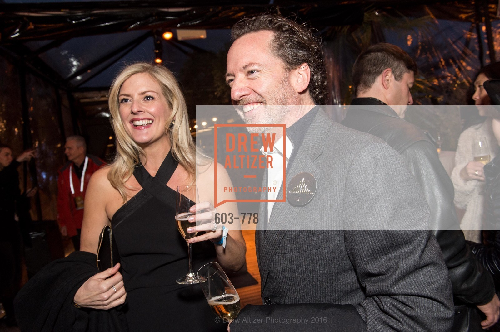 Laura Bradley Davis, Blair Winn, The Bay Lights Grand Relighting Celebration, Epic Steakhouse. 369 The Embarcadero, January 29th, 2016,Drew Altizer, Drew Altizer Photography, full-service agency, private events, San Francisco photographer, photographer california