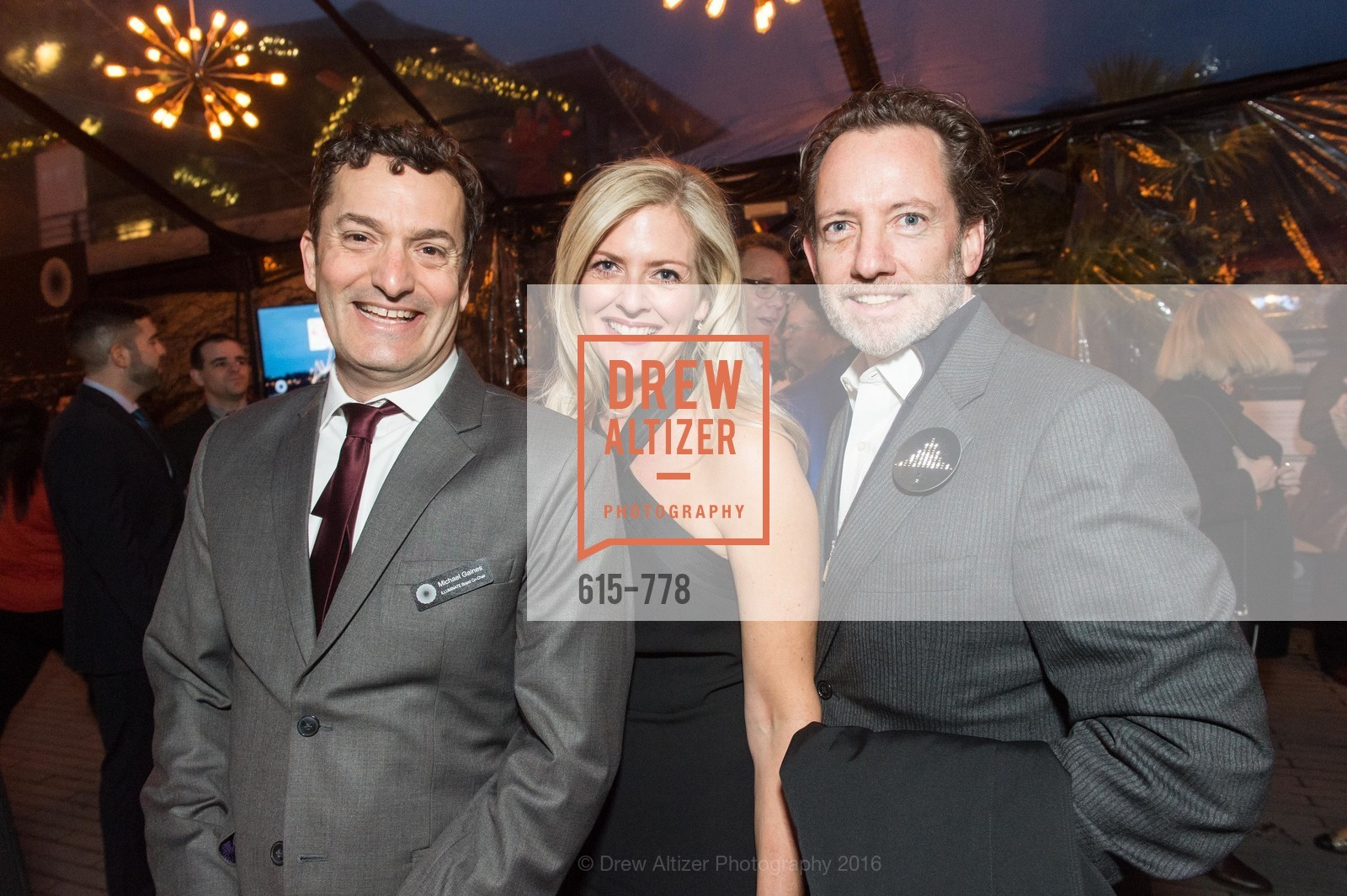 Michael Gaines, Laura Bradley Davis, Blair Winn, The Bay Lights Grand Relighting Celebration, Epic Steakhouse. 369 The Embarcadero, January 29th, 2016,Drew Altizer, Drew Altizer Photography, full-service agency, private events, San Francisco photographer, photographer california