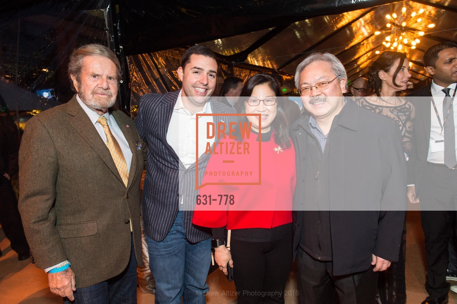 Tad Taube, Jed York, Anita Lee, Ed Lee, The Bay Lights Grand Relighting Celebration, Epic Steakhouse. 369 The Embarcadero, January 29th, 2016,Drew Altizer, Drew Altizer Photography, full-service agency, private events, San Francisco photographer, photographer california