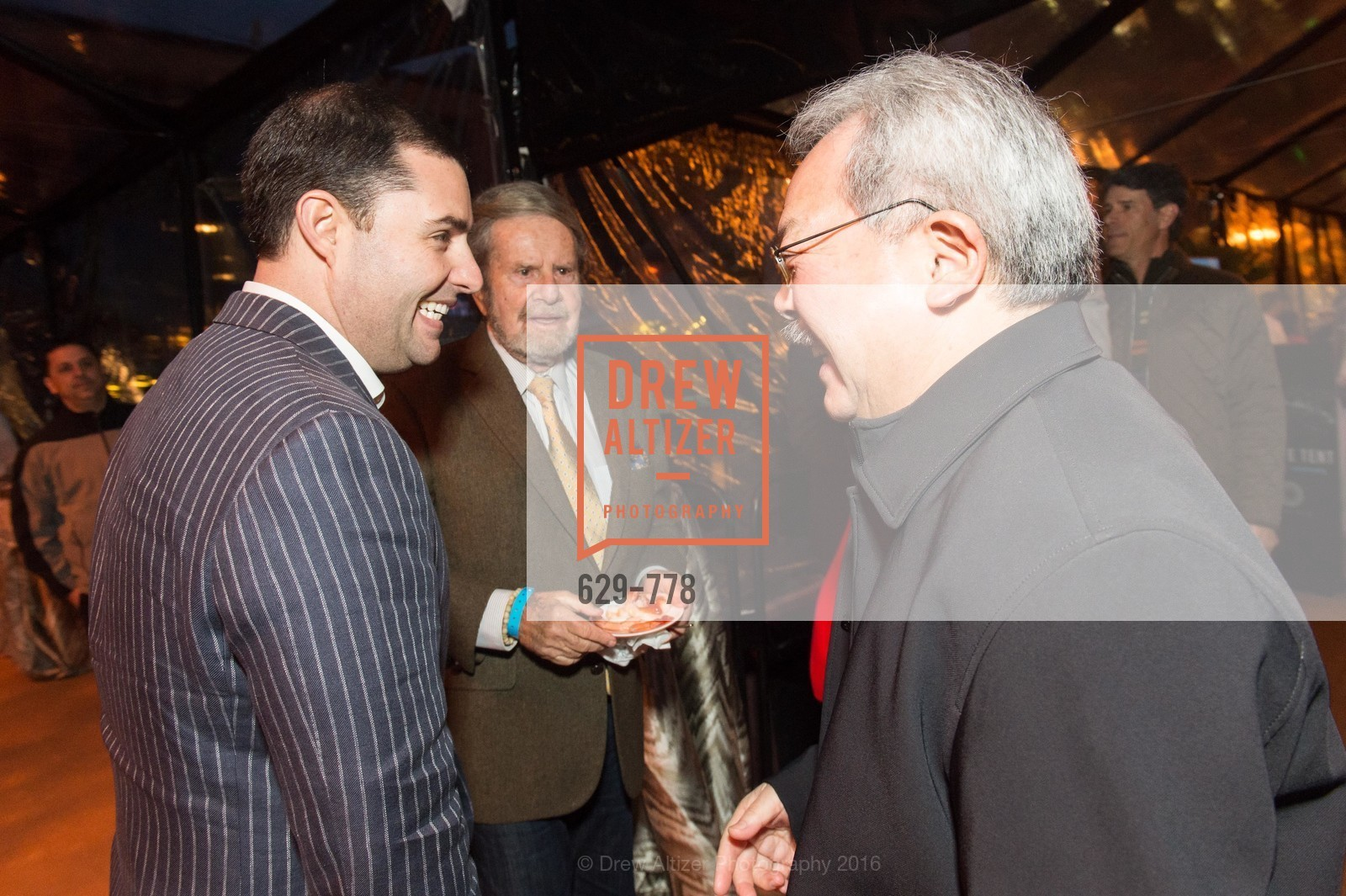 Jed York, Tad Taube, Ed Lee, The Bay Lights Grand Relighting Celebration, Epic Steakhouse. 369 The Embarcadero, January 29th, 2016,Drew Altizer, Drew Altizer Photography, full-service agency, private events, San Francisco photographer, photographer california